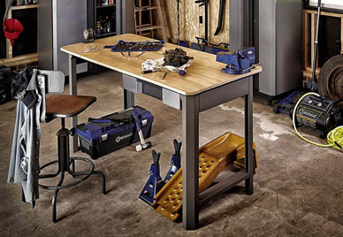 x wood shop drawer bench pd com h w work kobalt at in lowes